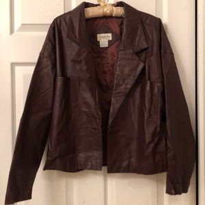 DIOR 💯% authentic genuine leather jacket -READ!!